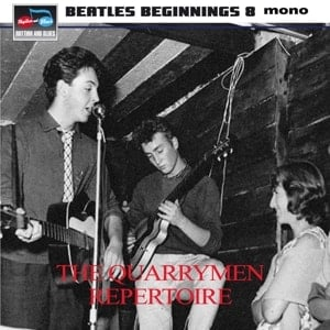 4er CD BEATLES BEGINNINGS VOL. 8 - THE QUARRYMEN REPERTOIRE
