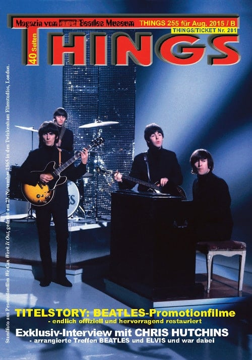 BEATLES-Magazin THINGS 255 Nachdruck