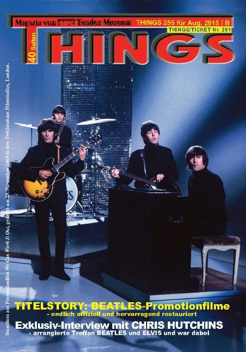 BEATLES-Magazin THINGS 255 Nachdruck