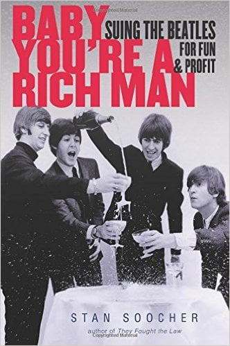BEATLES-Buch BABY YOU'RE A RICH MAN - SUING THE BEATLES FOR FUN