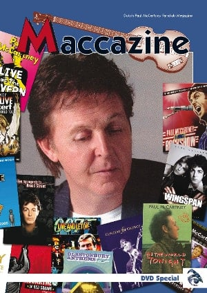 Heft MACCAZINE - DVD SPECIAL - PAUL McCARTNEY