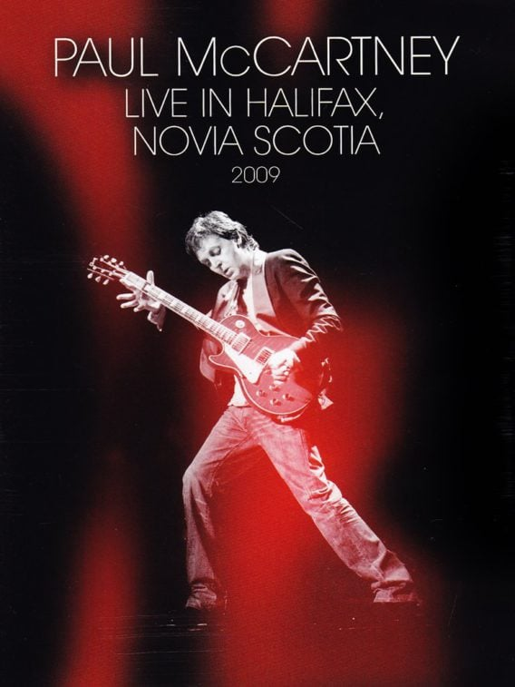 PAUL McCARTNEY DVD LIVE IN HALIFAX, NOVIA SCOTIA 2009
