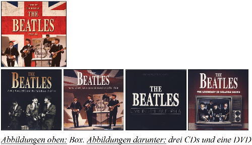 BEATLES: Box (3 CDs, 1 DVD) THE BEST OF THE BEATLES 1962 - '64
