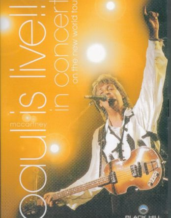 PAUL McCARTNEY  DVD PAUL IS LIVE!!! - IN CONCERT ON THE NEW WORL