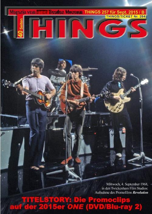 BEATLES-Magazin THINGS 257