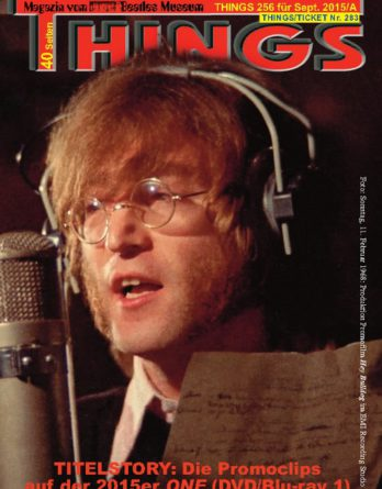 BEATLES-Magazin THINGS 256