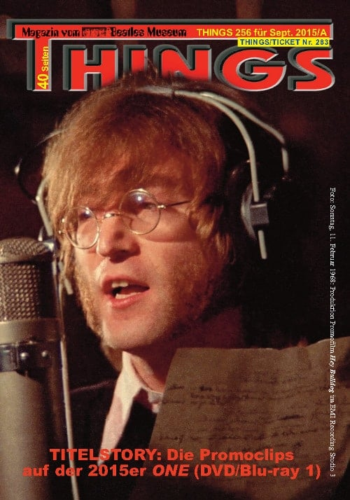 BEATLES-Magazin THINGS 256