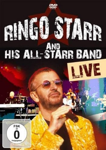 RINGO STARR  DVD RINGO STARR STARR AND HIS ALL-STARR BAND LIVE