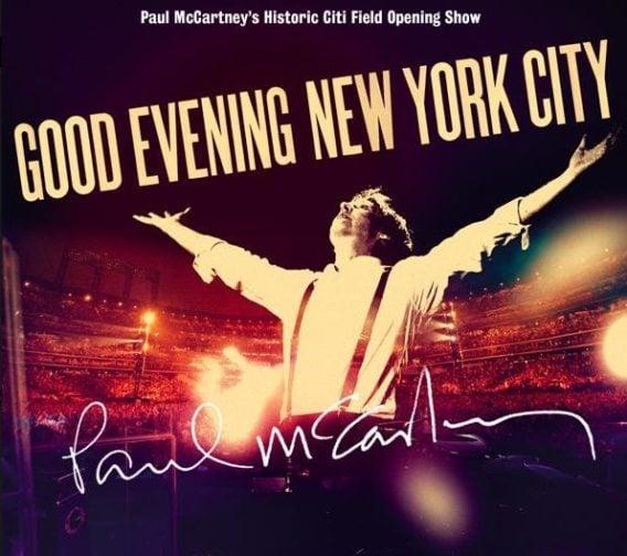PAUL McCARTNEY  BOX mit DOPPEL-CD+DVD GOOD EVENING NEW YORK CITY