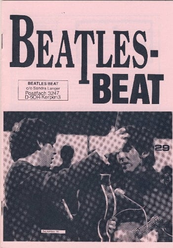 Deutsches Heft BEATLES-BEAT 29