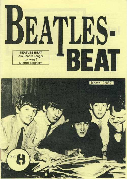 Deutsches Heft BEATLES-BEAT 08
