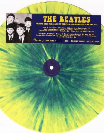 BEATLES: Colour-Vinyl-LP THE WAY HEY WERE STAR-CLUB (1)