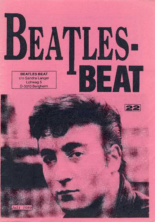 Deutsches Heft BEATLES-BEAT 22