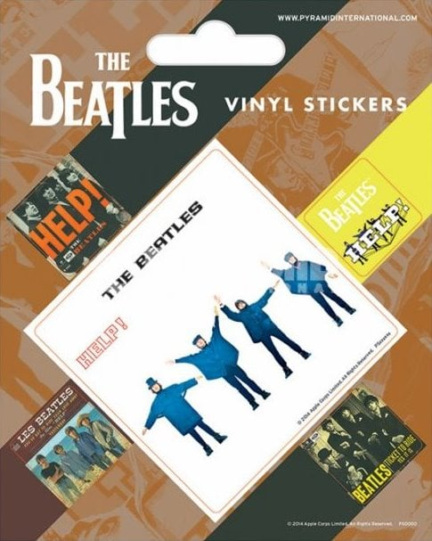 BEATLES-Aufkleber-Set HELP!