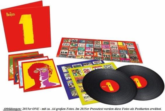 BEATLES: 2015er Doppel-LP ONE von Universal