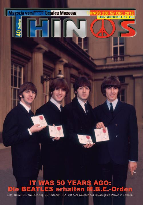 BEATLES-Magazin THINGS 258