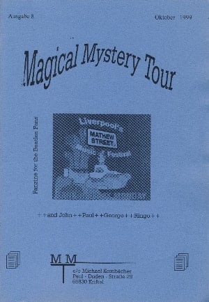 BEATLES-Heft MAGICAL MYSTERY TOUR AUSGABE 8