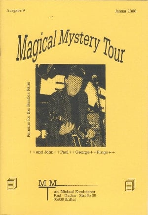 BEATLES-Heft MAGICAL MYSTERY TOUR AUSGABE 9