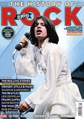 engl. Paperback THE HISTORY OF ROCK 1969