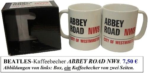 Kaffeebecher ABBEY ROAD NW8