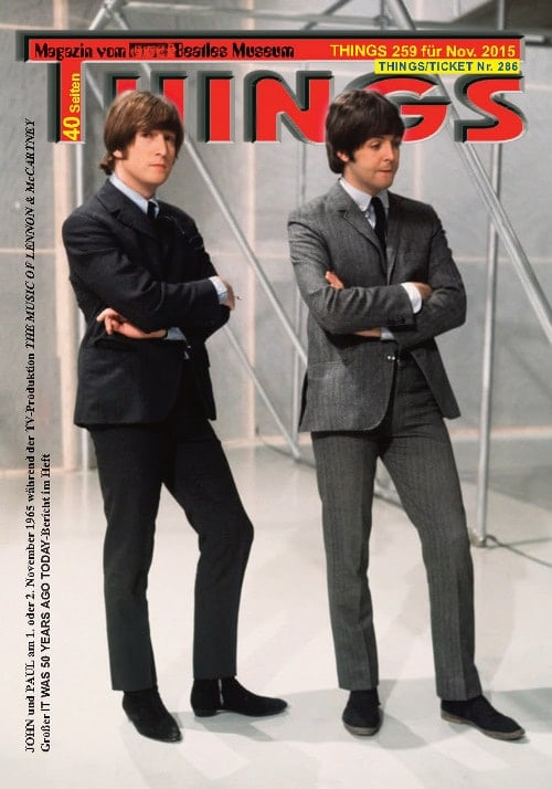 BEATLES-Magazin THINGS 259