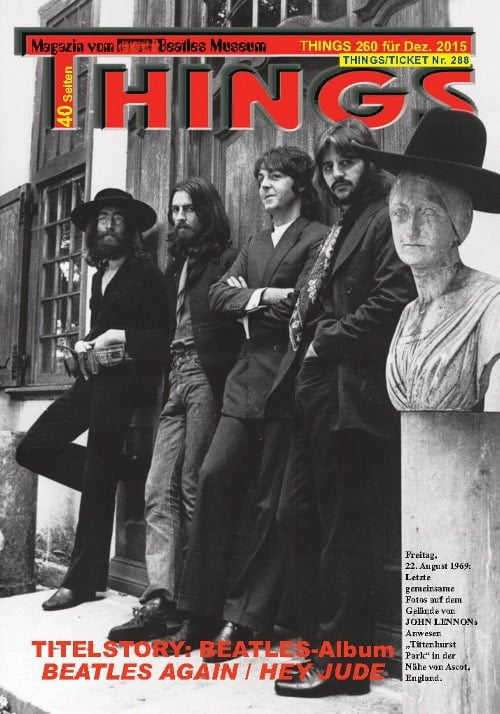 BEATLES-Magazin THINGS 260