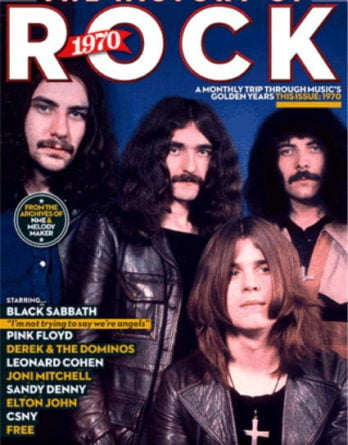 engl. Paperback THE HISTORY OF ROCK 1970