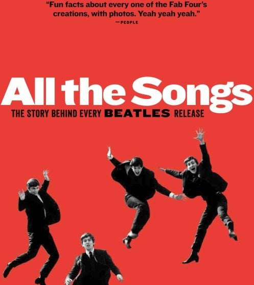 BEATLES-Buch  ALL THE SONGS - THE STORY BEHIND EVERY BEATLES REA