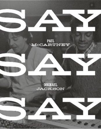 PAUL McCARTNEY & MICHAEL JACKSON:  Vinyl-Maxisingle SAY SAY SAY