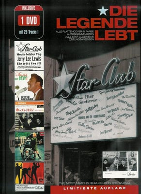 Buch (Bildband) & DVD STAR-CLUB HAMBURG - DIE LEGENDE LEBT