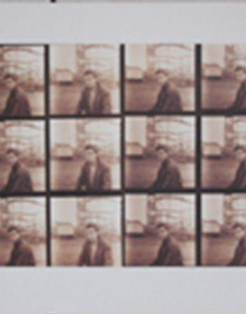 GEORGE HARRISON: Plakat GEORGE HARRISON ON HAMBURG FUNFAIR