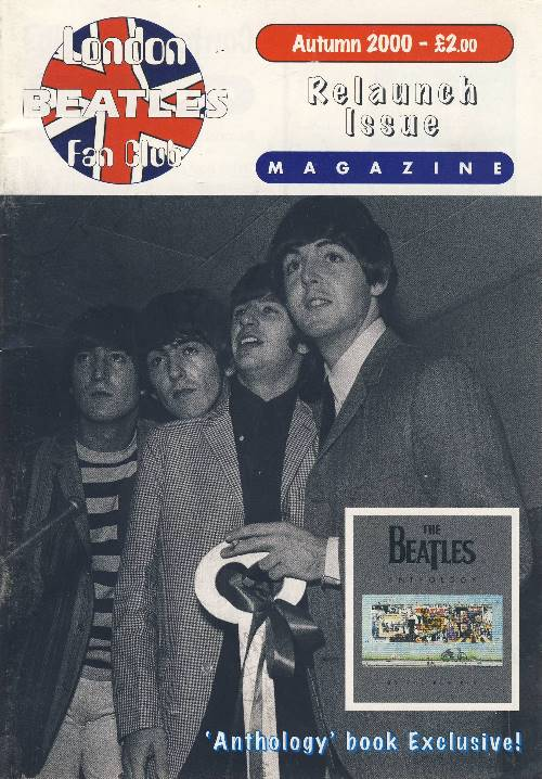 BEATLES-Fanmagazin BRITISH BEATLES FAN CLUB MAGAZINE - ISSUE 01
