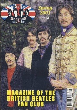 BEATLES-Fanmagazin BRITISH BEATLES FAN CLUB MAGAZINE - ISSUE 03
