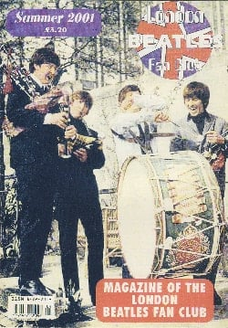 BEATLES-Fanmagazin BRITISH BEATLES FAN CLUB MAGAZINE - ISSUE 04