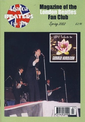BEATLES-Fanmagazin BRITISH BEATLES FAN CLUB MAGAZINE - ISSUE 07