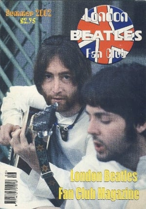 BEATLES-Fanmagazin BRITISH BEATLES FAN CLUB MAGAZINE - ISSUE 08
