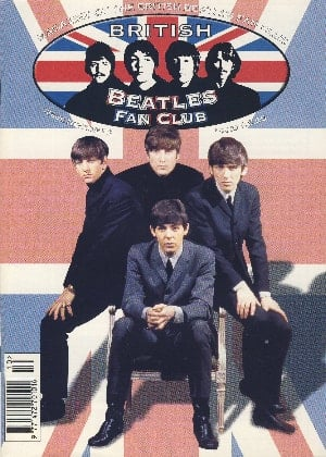 BEATLES-Fanmagazin BRITISH BEATLES FAN CLUB MAGAZINE - ISSUE 10