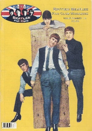 BEATLES-Fanmagazin BRITISH BEATLES FAN CLUB MAGAZINE - ISSUE 14