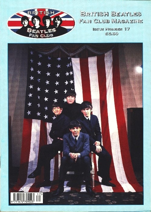 BEATLES-Fanmagazin BRITISH BEATLES FAN CLUB MAGAZINE - ISSUE 17