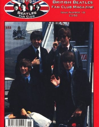 BEATLES-Fanmagazin BRITISH BEATLES FAN CLUB MAGAZINE - ISSUE 18