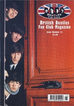 BEATLES-Fanmagazin BRITISH BEATLES FAN CLUB MAGAZINE - ISSUE 21