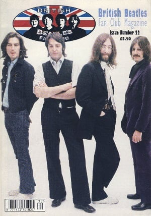BEATLES-Fanmagazin BRITISH BEATLES FAN CLUB MAGAZINE - ISSUE 22