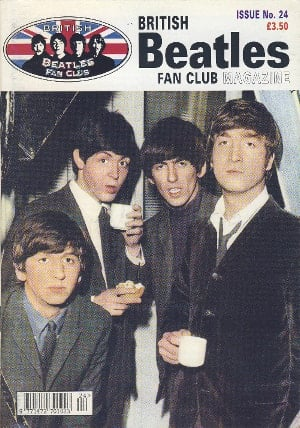 BEATLES-Fanmagazin BRITISH BEATLES FAN CLUB MAGAZINE - ISSUE 24