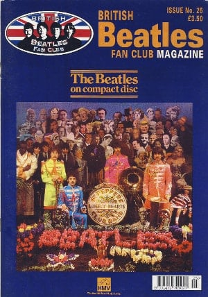 BEATLES-Fanmagazin BRITISH BEATLES FAN CLUB MAGAZINE - ISSUE 25