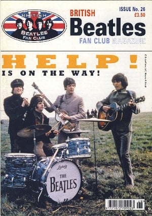 BEATLES-Fanmagazin BRITISH BEATLES FAN CLUB MAGAZINE - ISSUE 26