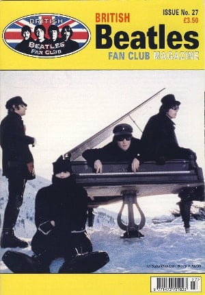 BEATLES-Fanmagazin BRITISH BEATLES FAN CLUB MAGAZINE - ISSUE 27