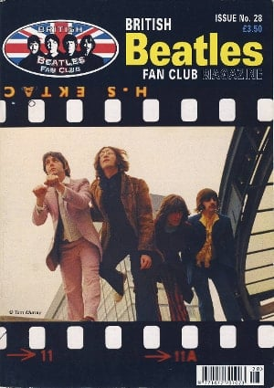 BEATLES-Fanmagazin BRITISH BEATLES FAN CLUB MAGAZINE - ISSUE 28