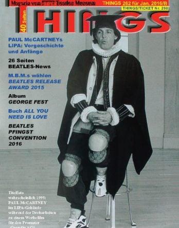 BEATLES-Magazin THINGS 262