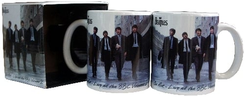 BEATLES-Kaffeebecher ON AIR - LIVE AT THE BBC VOLUME 2