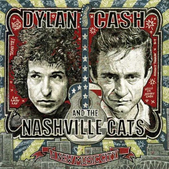 DYLAN, CASH, McCARTNEY, HARRISON, STARR: Do-CD A NEW MUSIC CITY